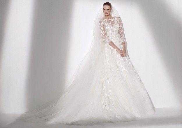 9431574cc500 Abiti da sposa 2015 Elie Saab  la nuova collezione Economici Negozio ...