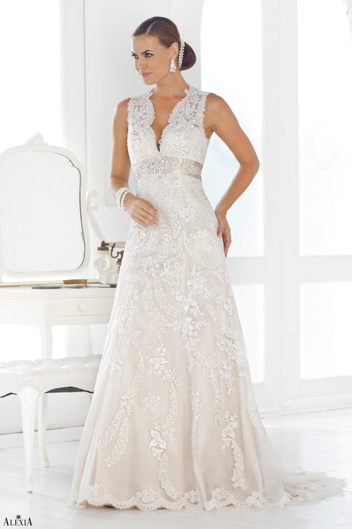 a0f919392770 ... alexiadesigns.com-Wedding-Alexia-Bridal-Long--Style 328. Abiti da sposa  2015 Elie Saab  la nuova collezione Economici Negozio ...
